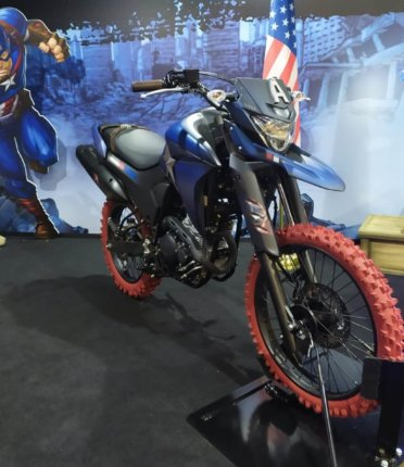 Yamaha faz parceria com Marvel e mostra motos customizadas inspiradas nos heróis