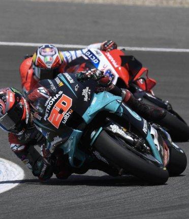 Quartararo vitorioso no GP da Espanha